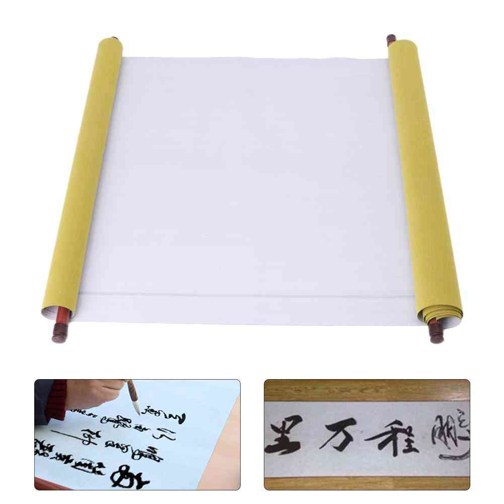 Chinese Calligraphy Practice Painting Scroll Magic Water Writing Cloth