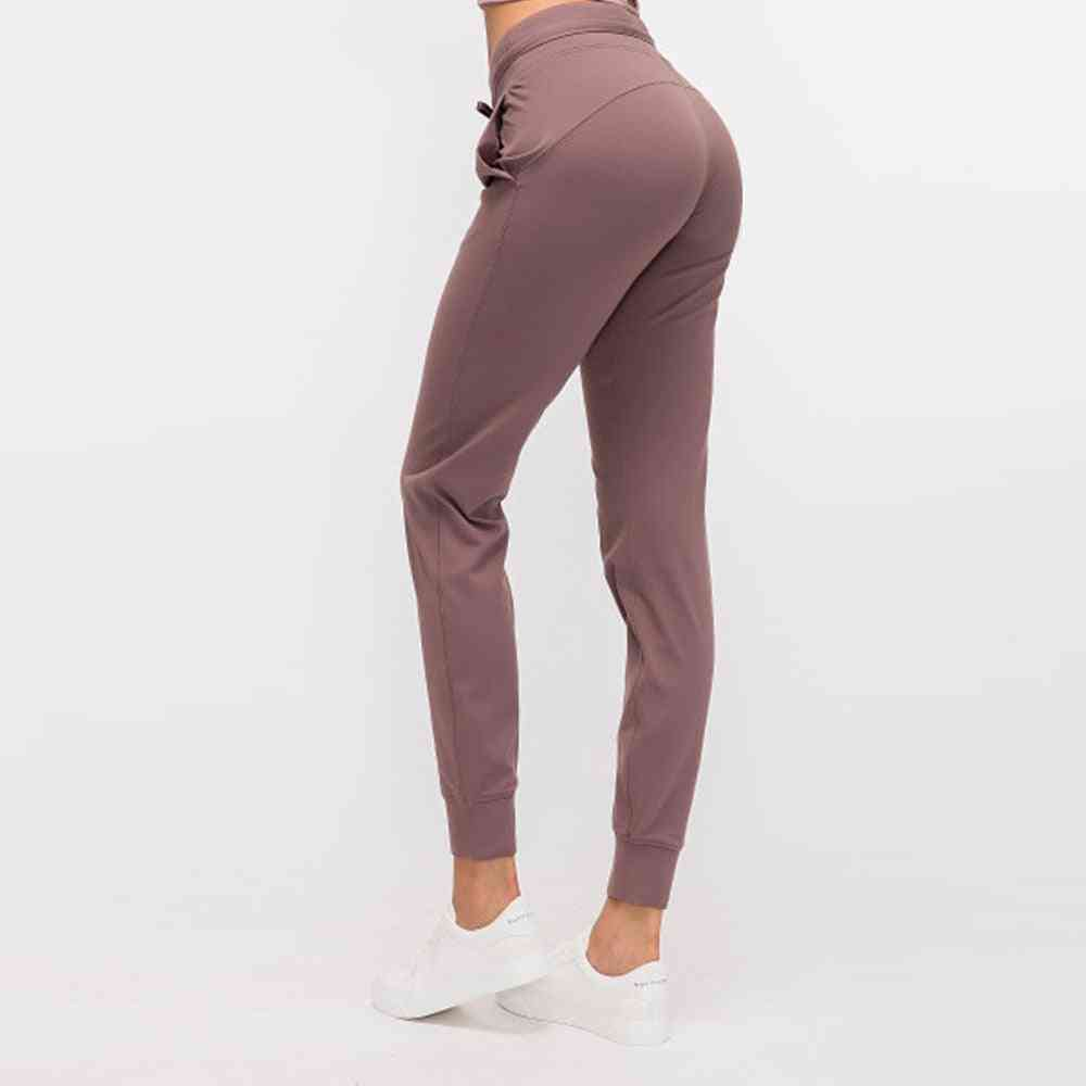 Women Workout Sport Joggers Running Sweatpants With Pocket