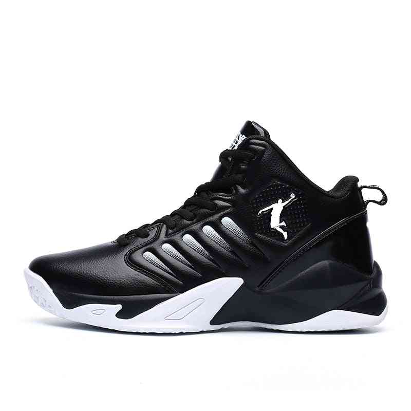 Breathable Non-slip Wearable Sports Shoes, Gym Training Athletic Basketball Sneakers