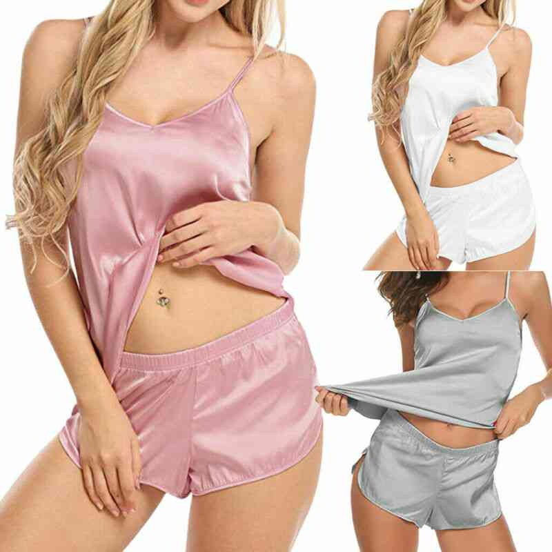 Women Lingerie Nightwear Set Underwear