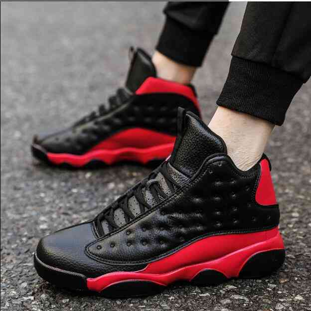 Men Comfortable Sports Boots, Winter High Athletic Shoes