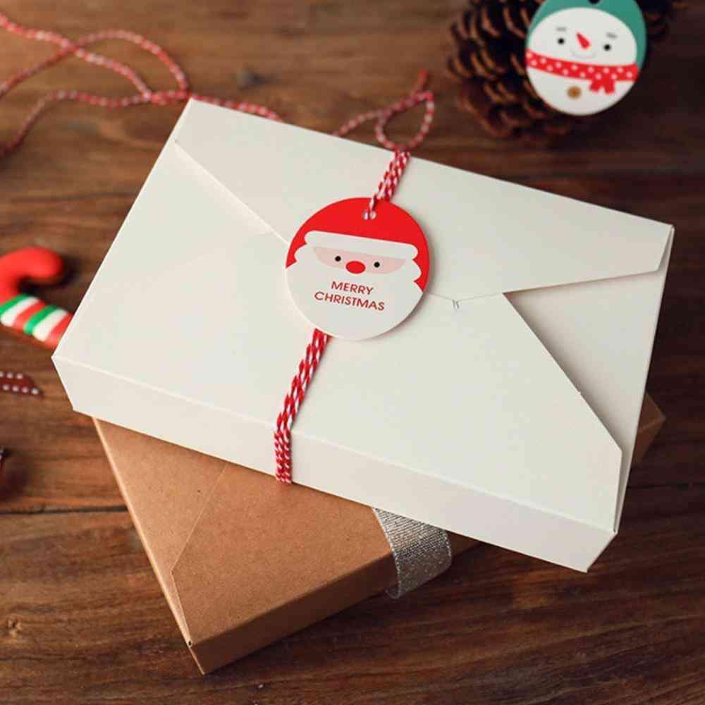Kraft Paper, Envelope Styled, Presentation Box