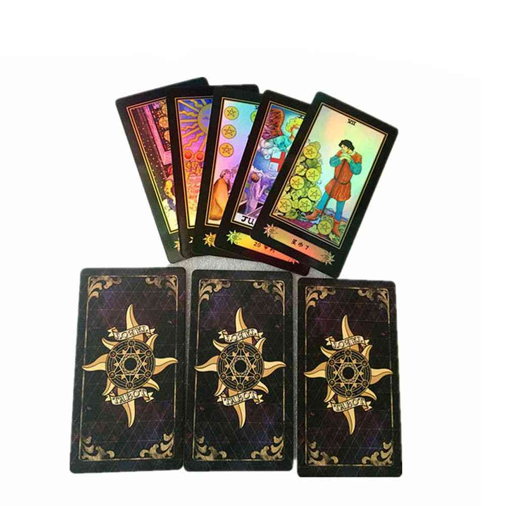 78 Cards Tarot Deck Set Future Telling English Version Card Board Games