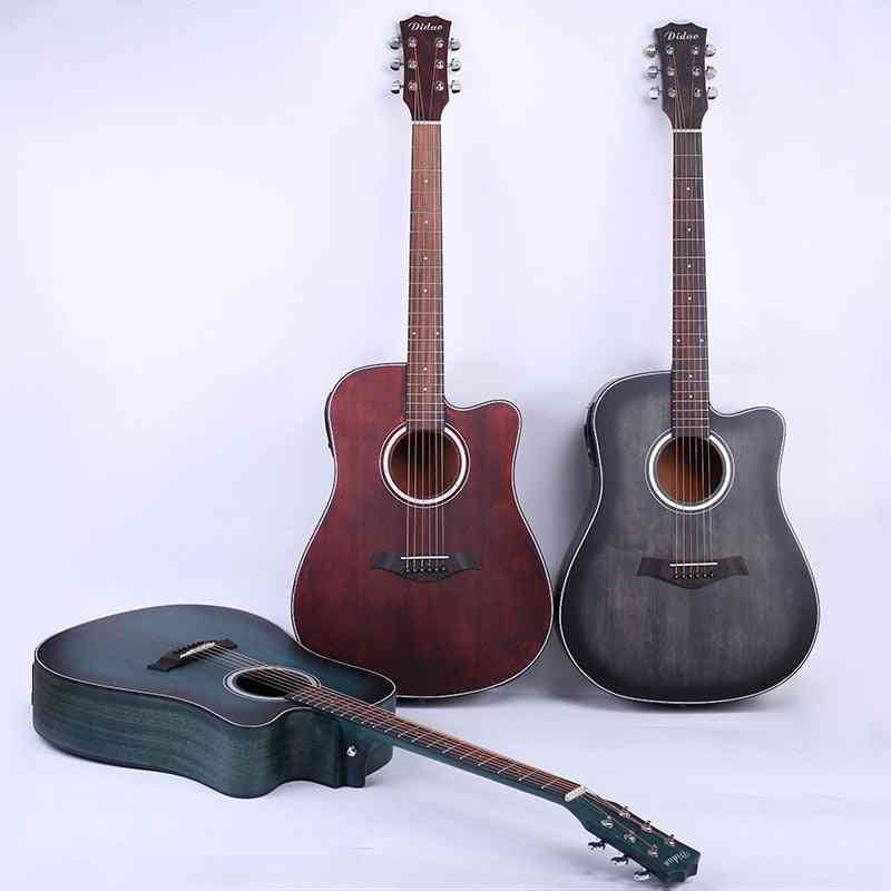 6 String Acoustic Guitar, Concert Musical Instrument
