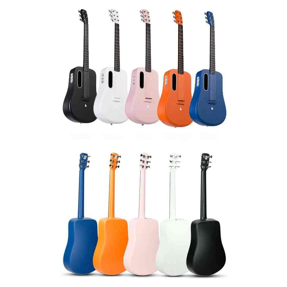 Lava Me 2 Carbon Fiber Guitar With Effects Acoustic Electric Travel Guitar
