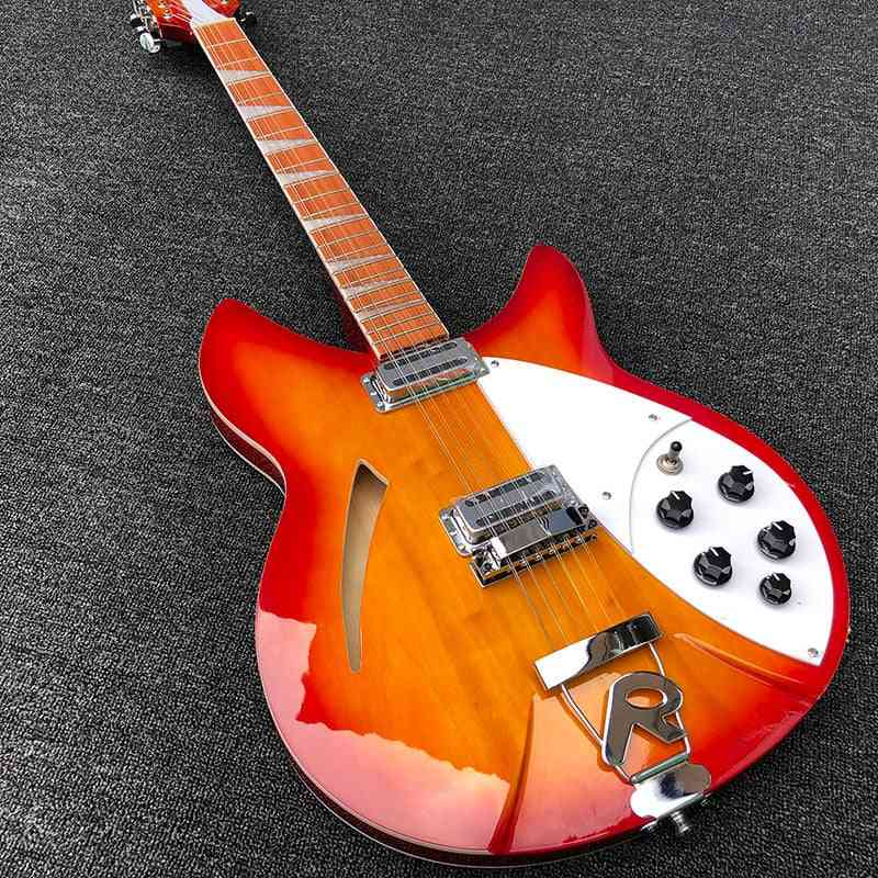 High Quality String Electric Guitar, Burst Body Rosewood Finger Board