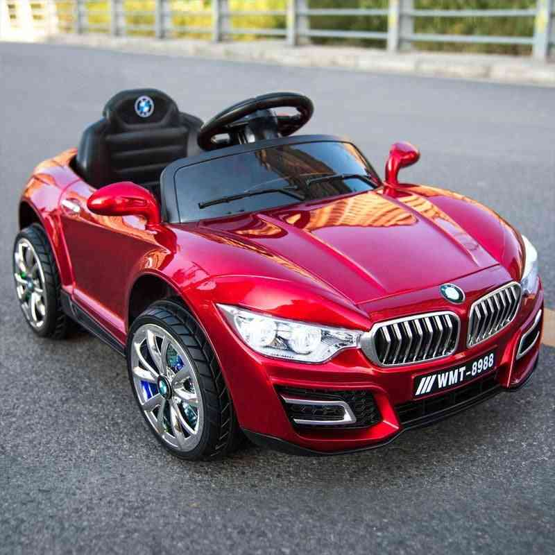 Remote Control Rc Ride On Electric Four Wheel Double Drive Toy Rechargeable Car For