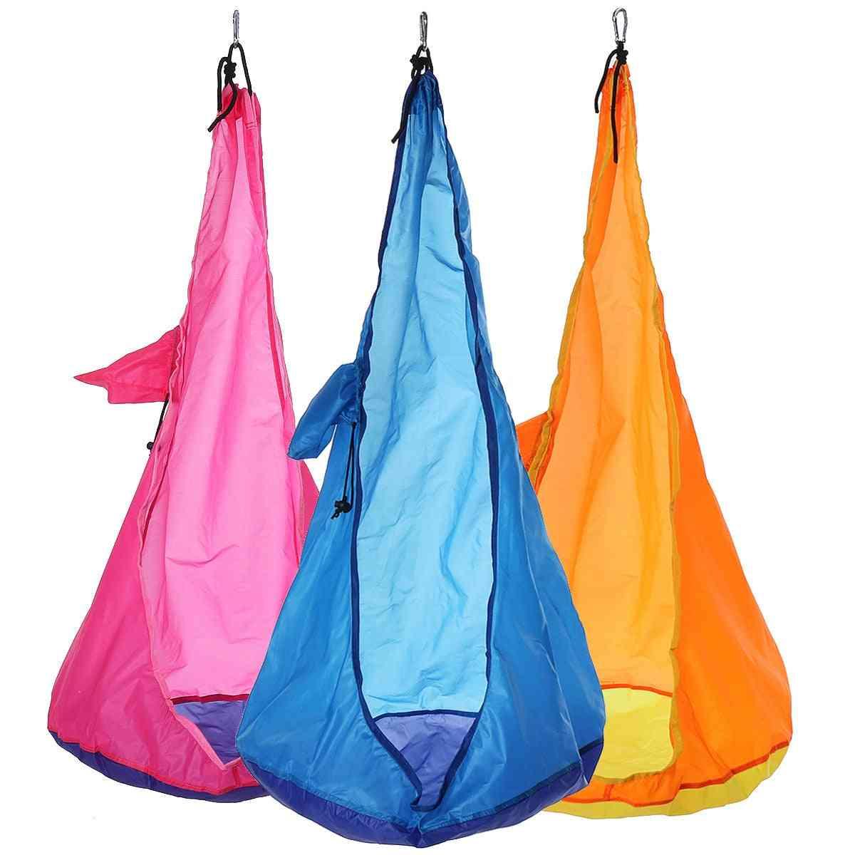 Portable Swing Home Hammock Chair Kids Swing Pods For Outdoor/indoor Hanging Seat