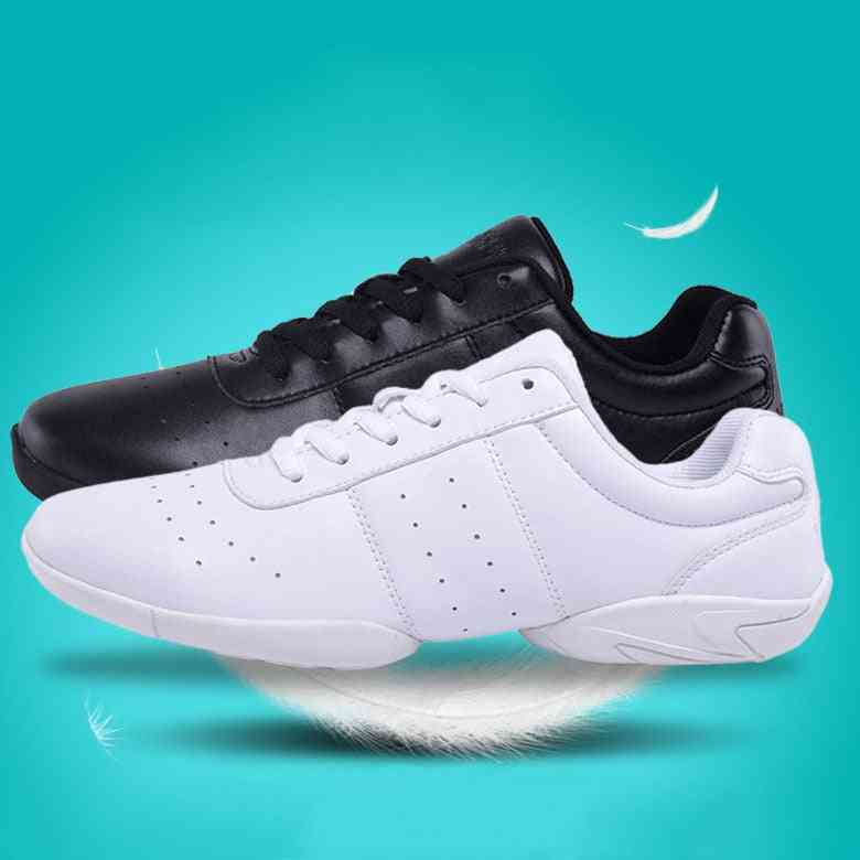 Children's Competitive Aerobics Shoes, Soft Bottom Fitness Sports Sneakers