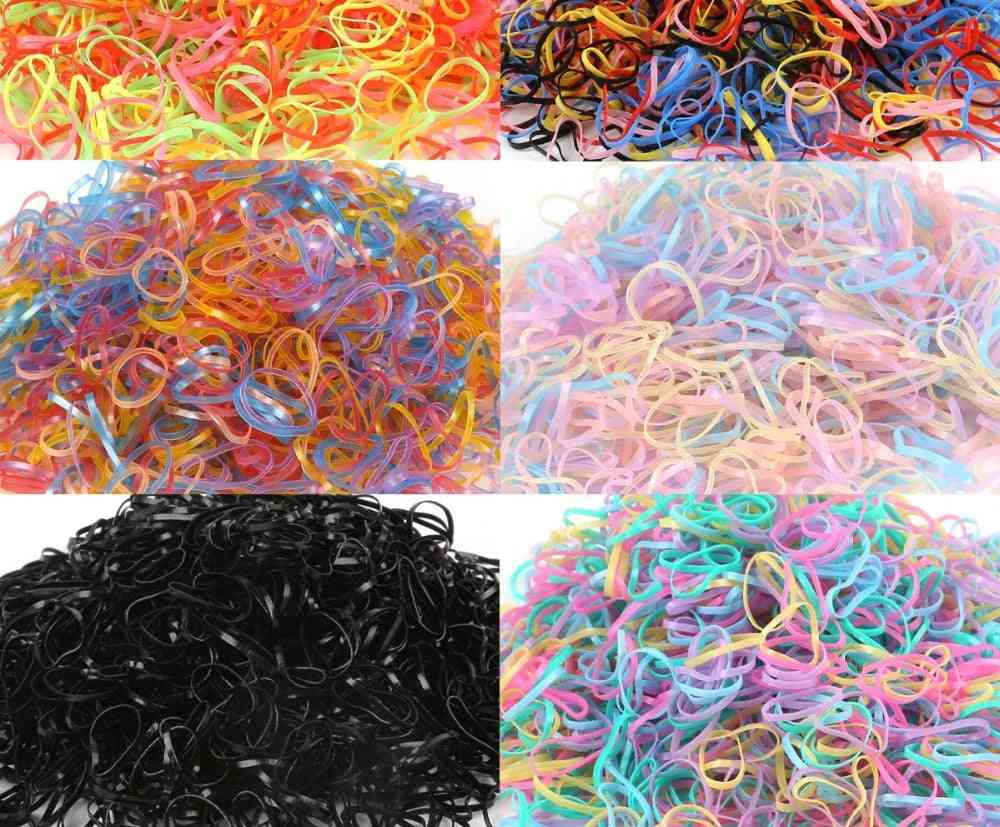Baby Hair Rubber Bands, Elastics Girl's Tie Gum Braids Accessories