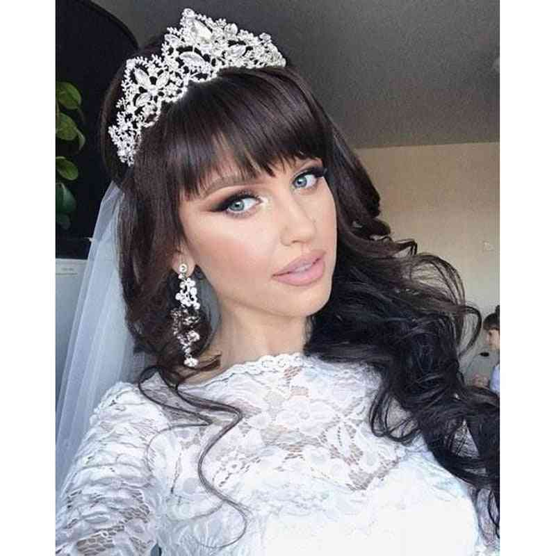 Trendy Crown Bride Headband