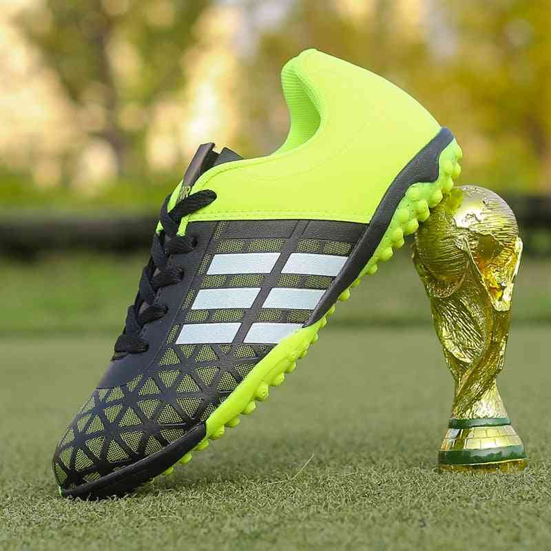 Men Soccer Cleats Turf Football Shoes, Tf Hard Court Sneakers