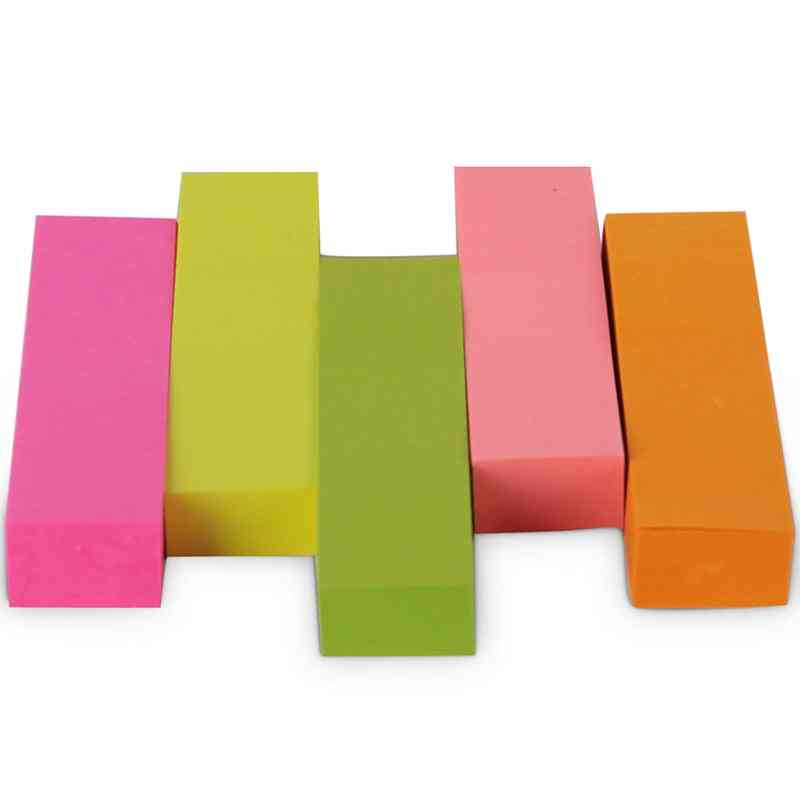Note Paper, 100 Page/color Sticky Notes