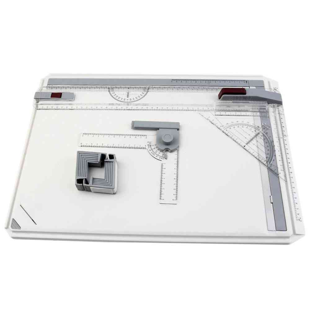 Drawing Board Table, Draft Painting Boards With Parallel Motion