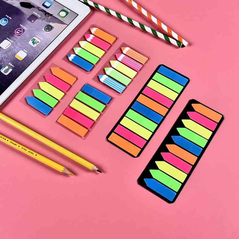 Memo Pad, Lovely Sticky Paper Post It Note School Office Supplies