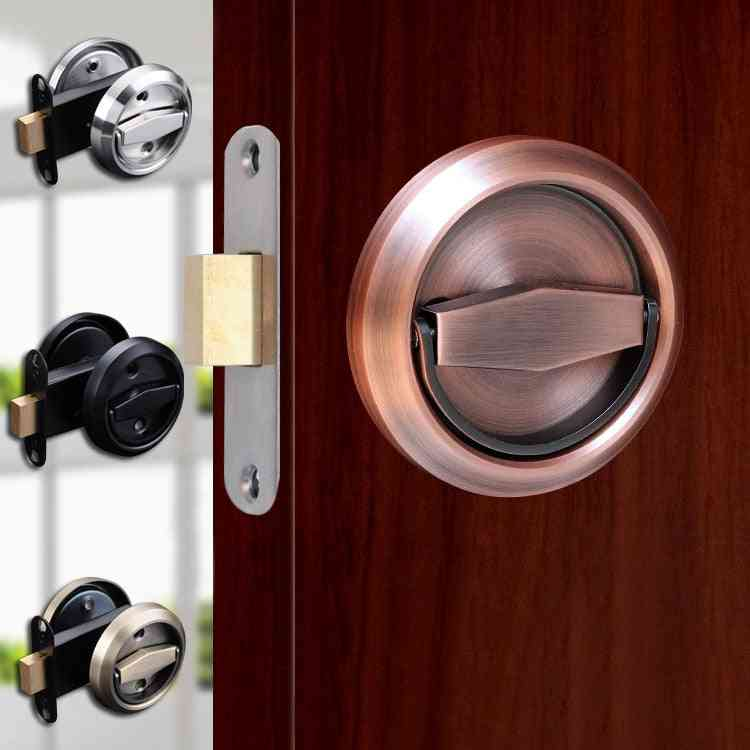 Double Sided Stainless Steel Recessed Invisible Handle Hidden Door Pulls Fire Proof Locks