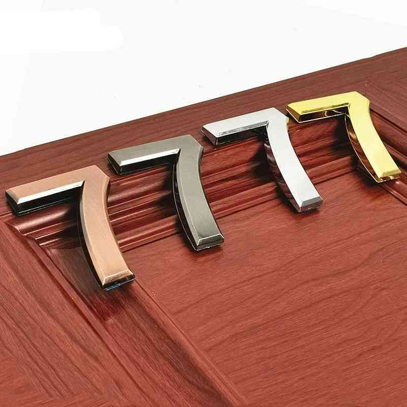 Abs Plastic Self- Adhesive House Door Numbers, Address Sign