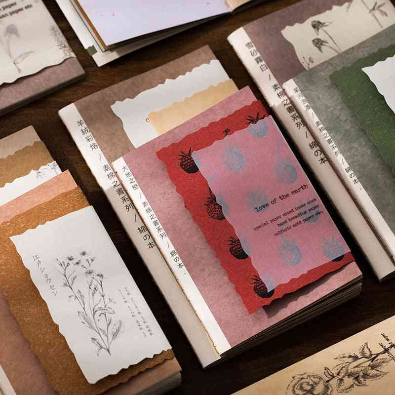 Multi-material Papers, Retro All In One Paper Book For Scrapbooking
