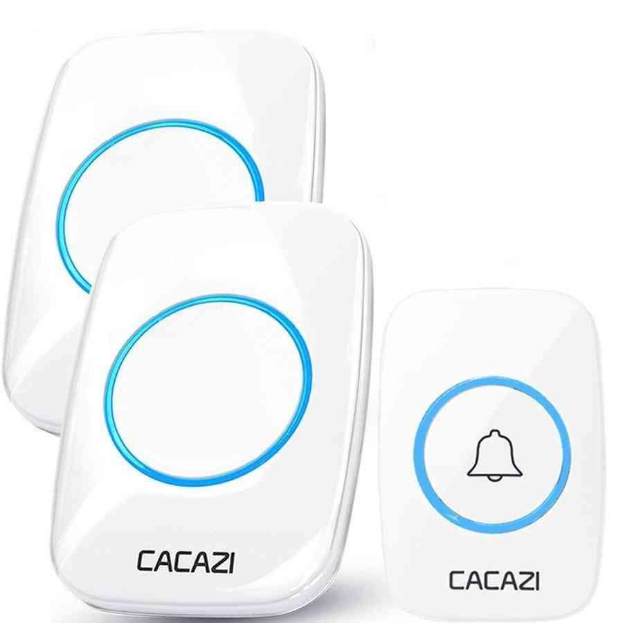 60 Chime 110db Wireless Doorbell, Waterproof