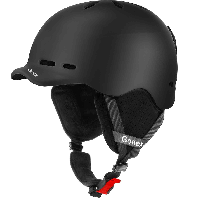 Youth Ski Helmet With Safety Snowboard Helmet Integrally-molded
