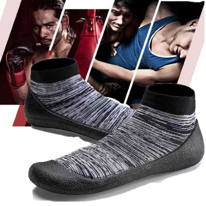 Men And Women Spring Summer Breathable Light-weight Professional Wrestling Shoes