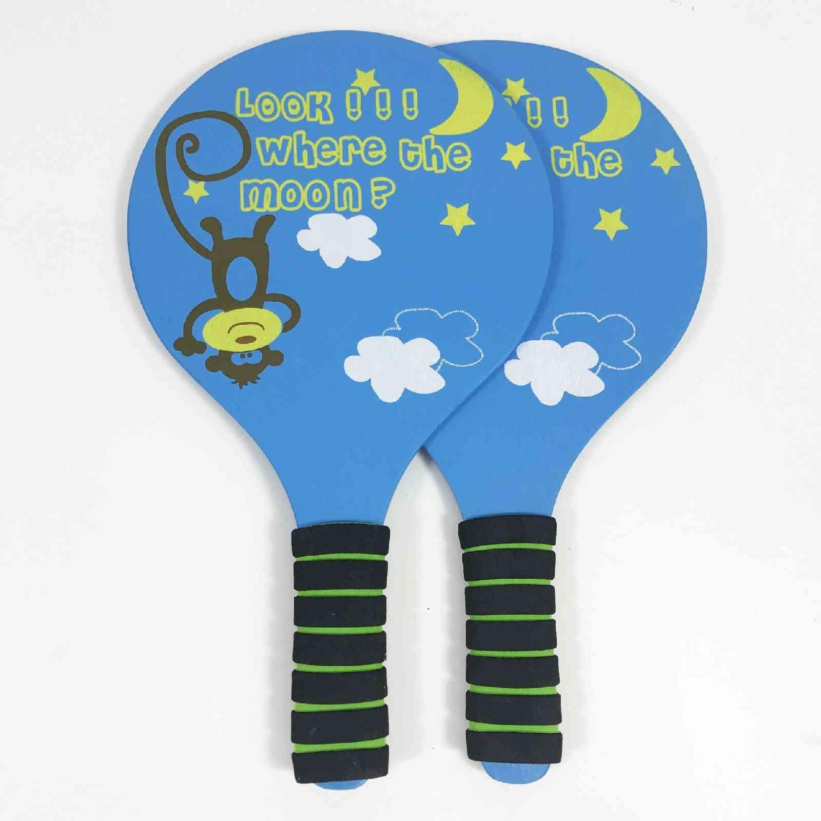 Children's Entertainment Cricket Anti-skid Wood Racket