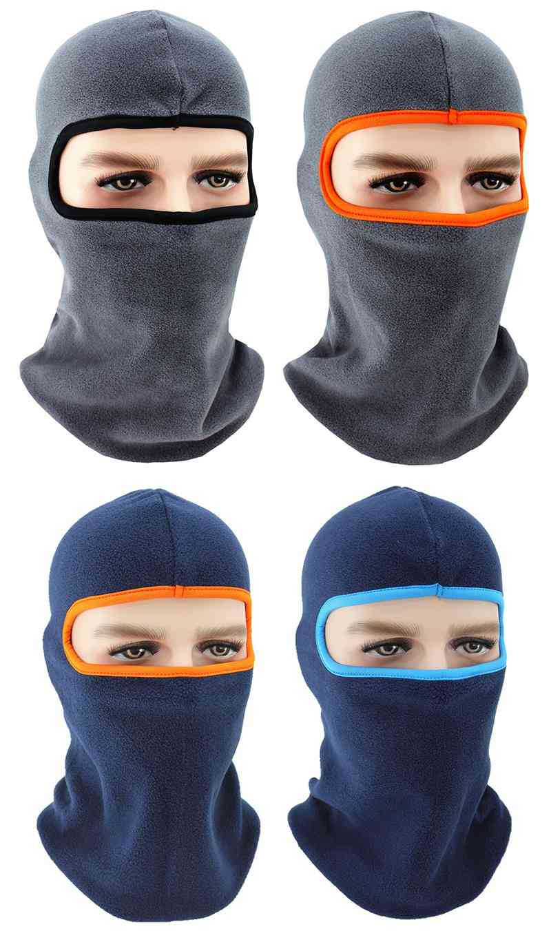 Winter Fleece Neck Warmer Hiking Caps, Cycling Face Cover