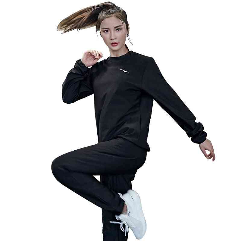 Womens Clothing Loose Sportswear Pullover Set- Top+ Bottom