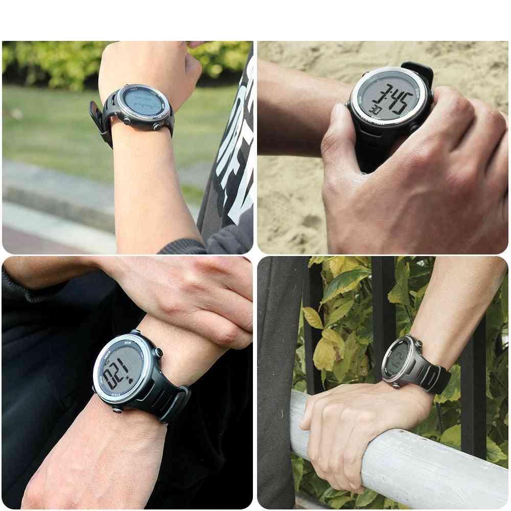 Heart Rate Monitor Men Sports Polar Watches, Digital Wireless Running Cycling Chest Strap, Men Women Sports Watch