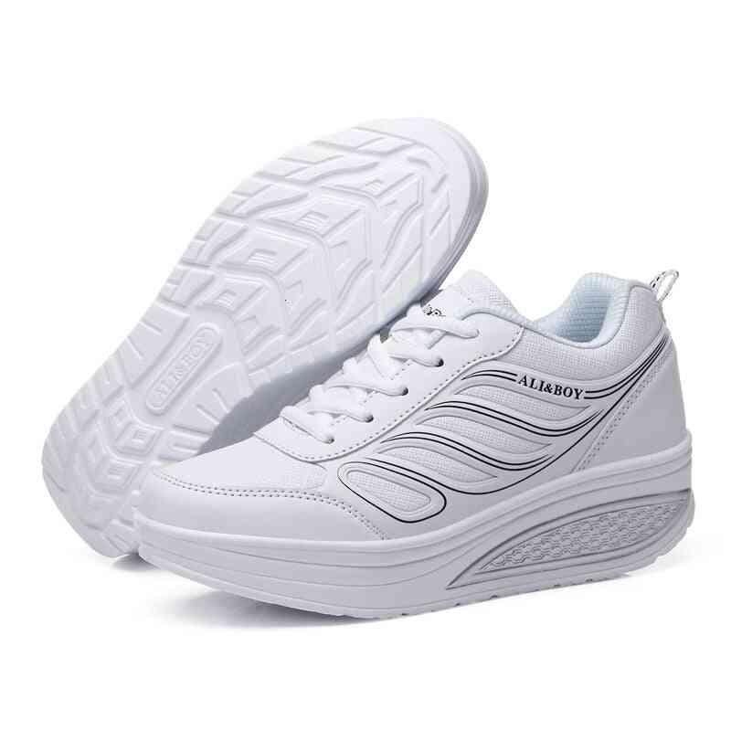 Height Increasing Platform Shoes,  Wedge Sneakers