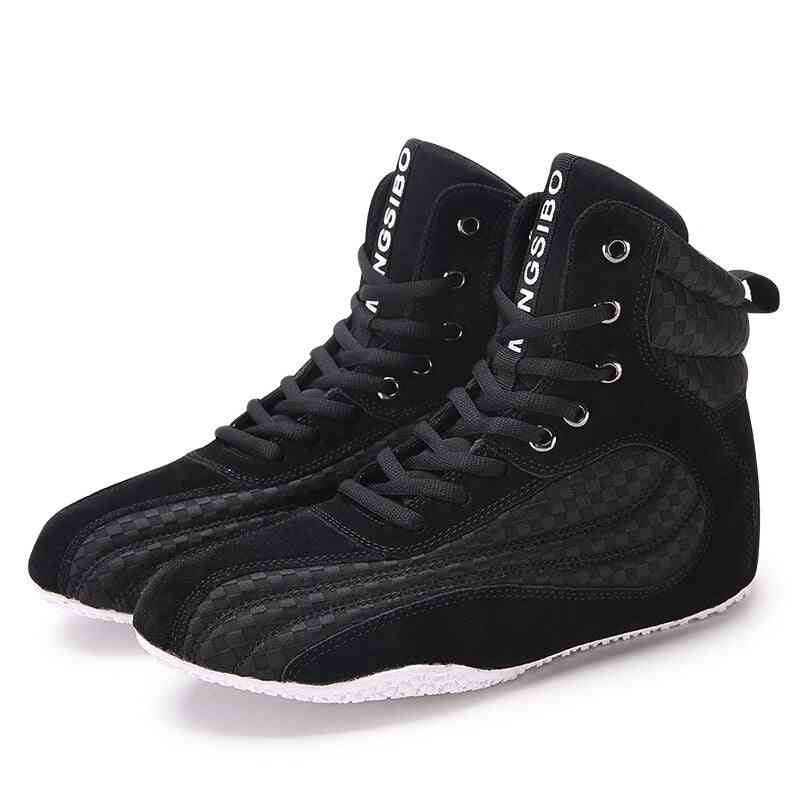 Men Boxing Wrestling Fighting Weightlifting Squat Shoes, Training Fitness  Shoes