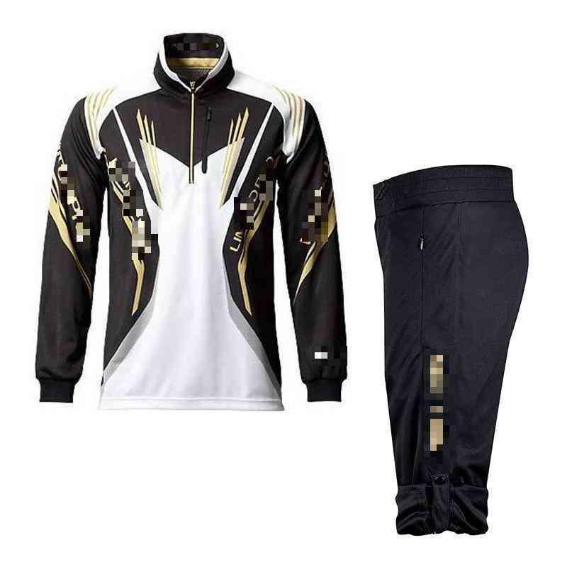 Men Uv Protection Outdoor Sportswear Suit, Summer Fishing Shirt & Pants