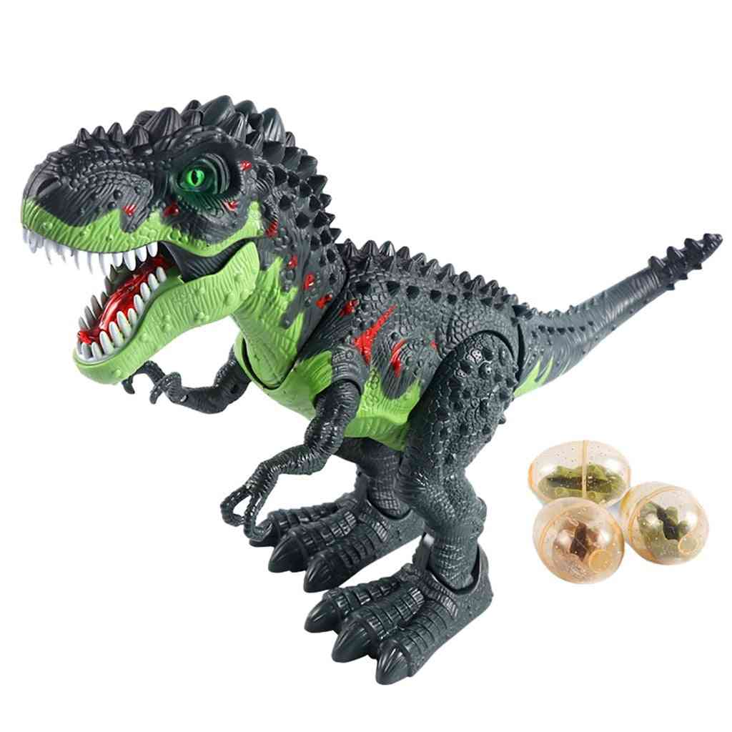 Rc Dinosaur Remote Control, Sounds Dinobot Electric Walking Animals Toy, Laying Eggs