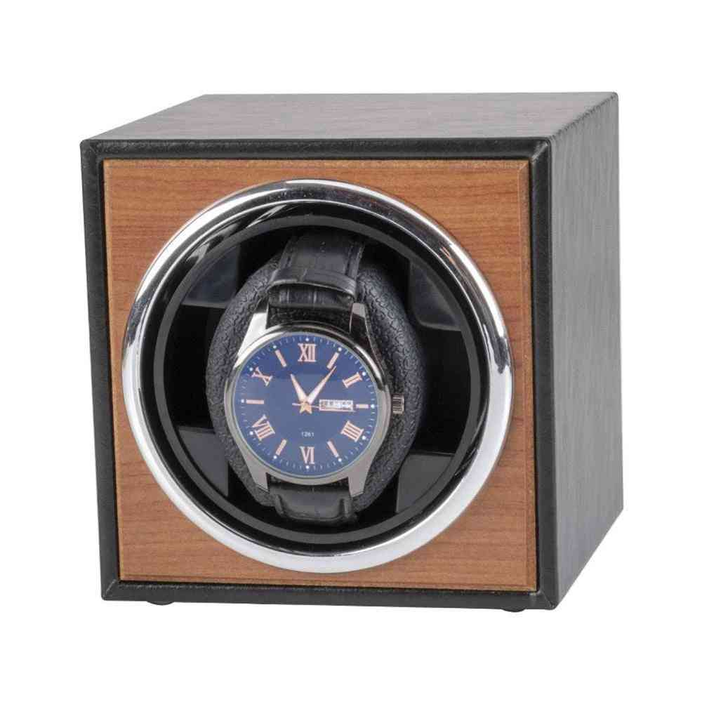 Watch Winder For Automatic Watches, Wooden Accessories Box Storage Collector
