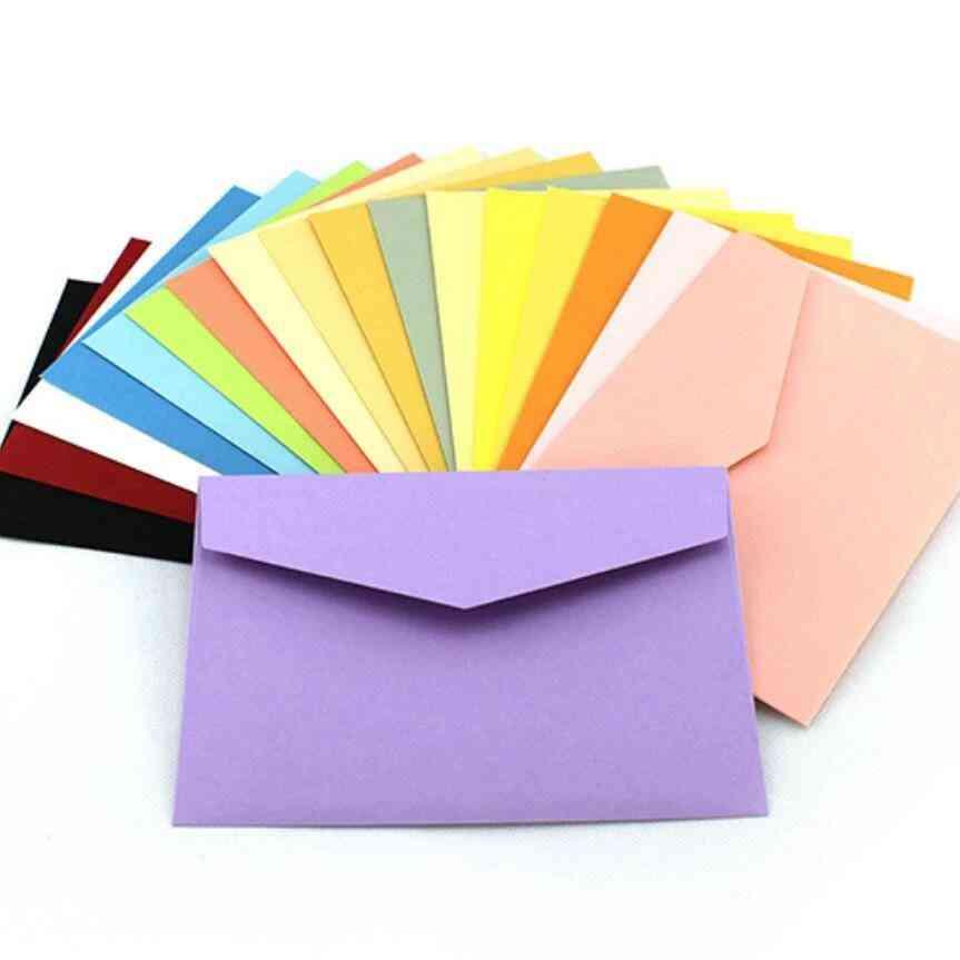 Mini Blank Envelopes Greeting, Membership Card