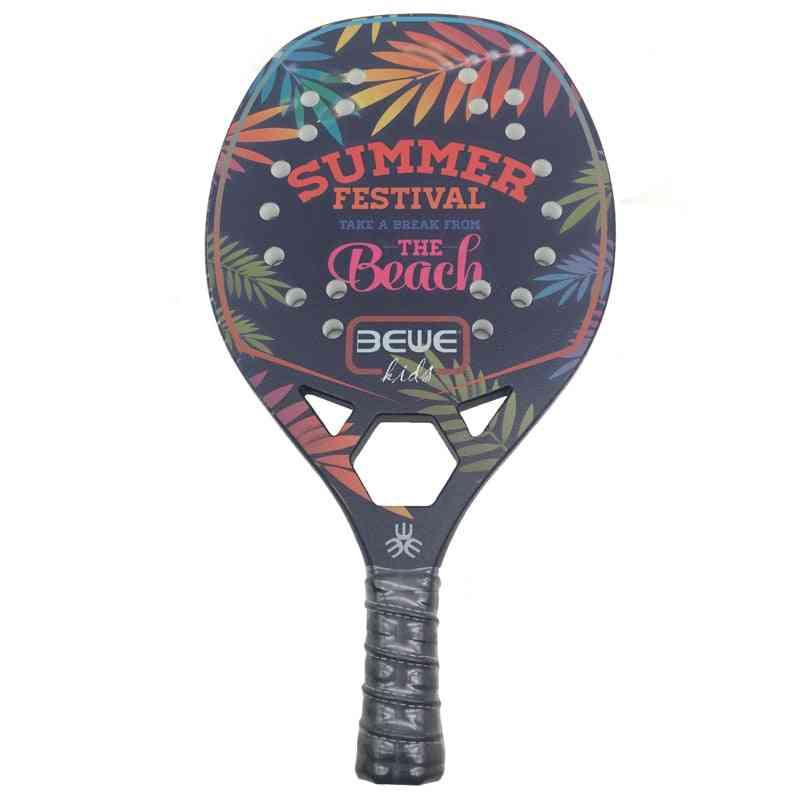 Btr-4010, Carbon Fiberglass, Beach Tennis Racket