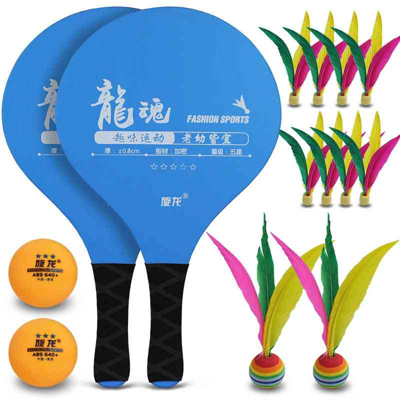 Pickleball Paddle - Cricket Bat And Ball Game For Family