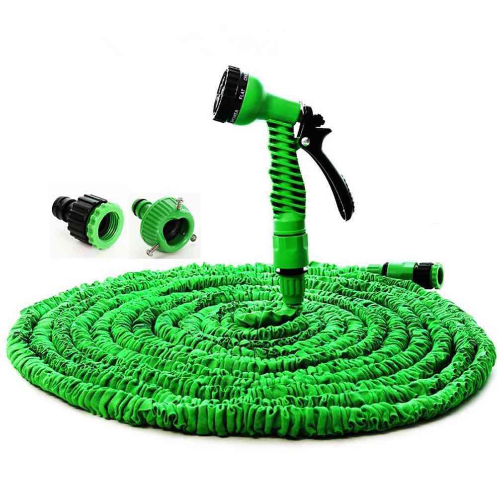 Garden Hose Expandable Magic Flexible Plastic Hoses Pipe With Spray Gun