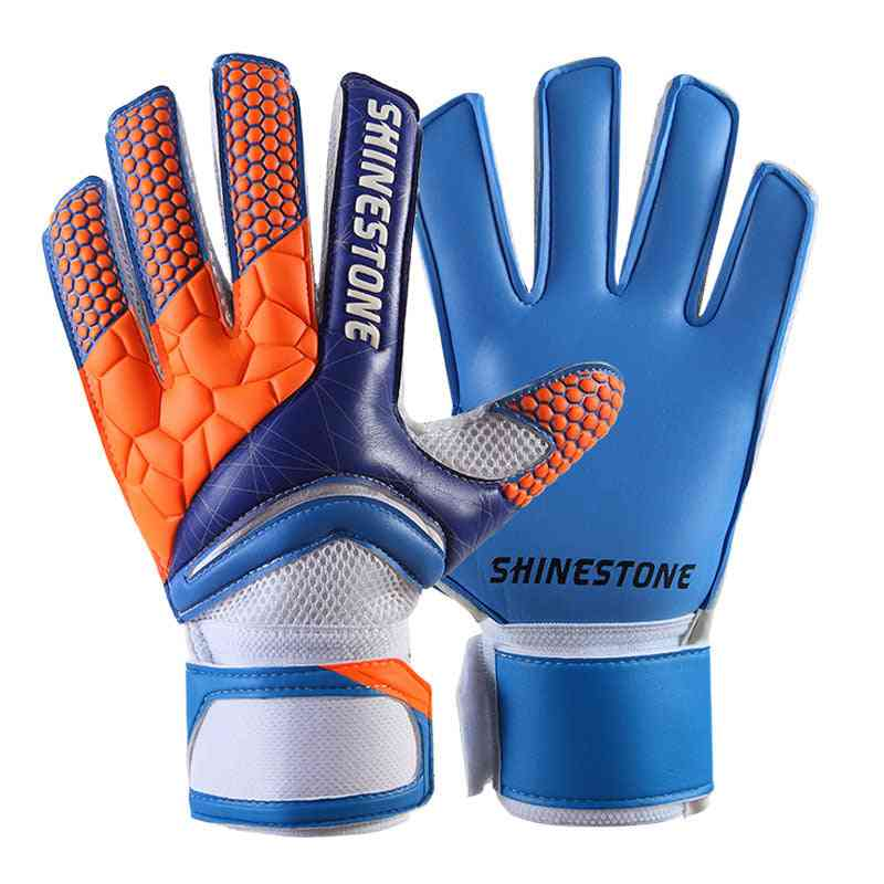 Professional Soccer Goalkeeper Gloves, Strong Finger Protection Glove