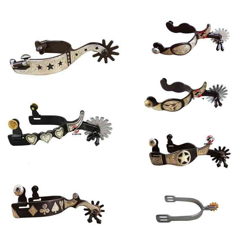 Horse-western Spurs Horse Riding, Horses Racing Equipment