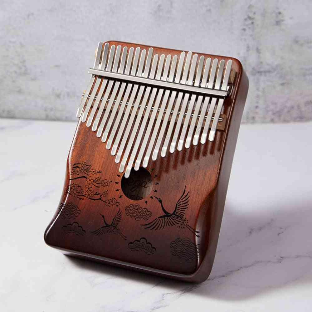 Thumb Piano Mahogany Wooden Mbira Musical Instrumentos Musicales, Calimba Machine