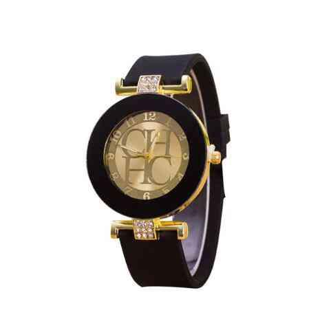 Fashion Geneva Casual Quartz Silicone Watches, Men's & Women Wrist Watch