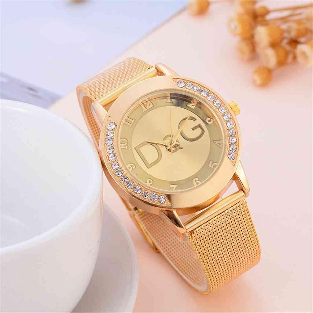 Women Luxury Stainless Steel Watch