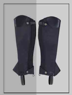 Equestrian Supplies Texture Men's And Women's Knight's Foot Cover Chaps