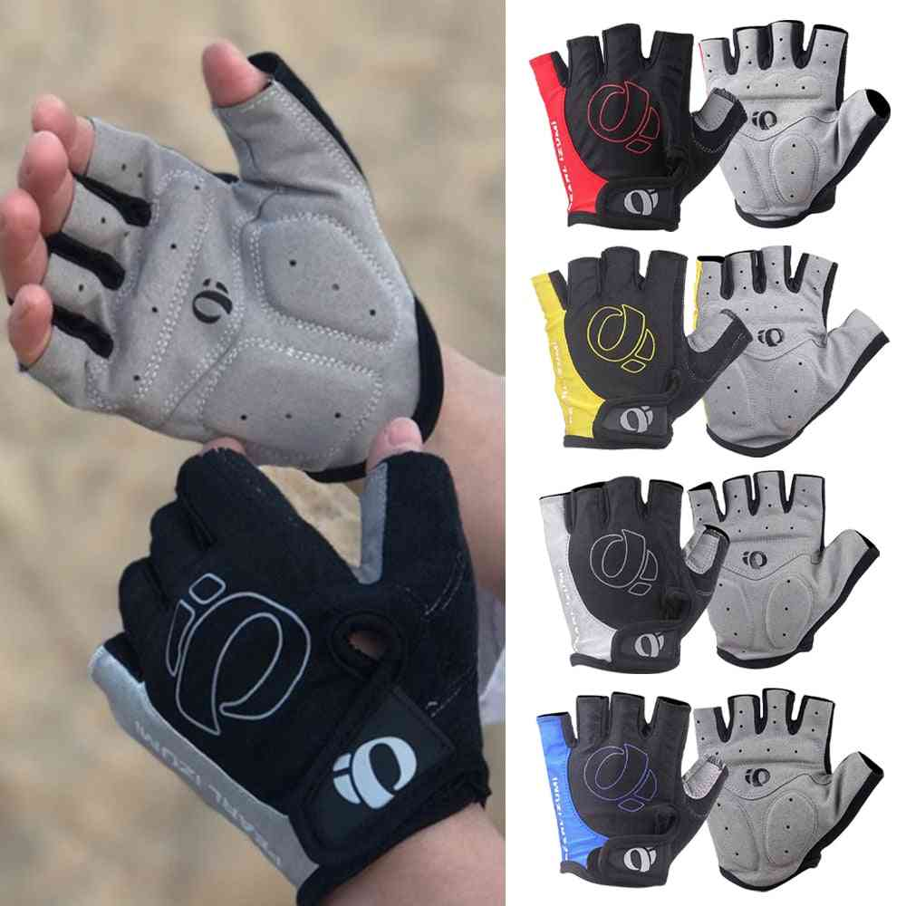 Sweat Gel Bicycle Riding Half Finger Cycling Gloves