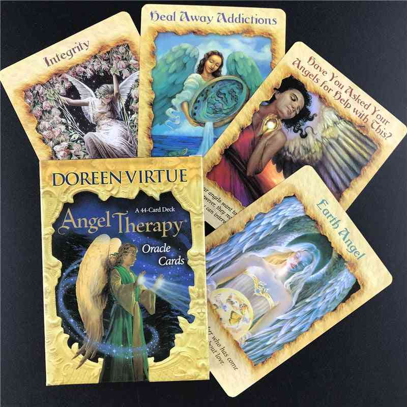 English Version Tarot Angel Therapy Oracle Tarot Cards