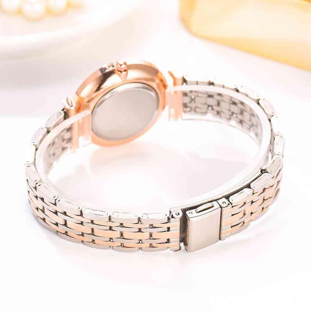 Top Brand Fashion Diamond Luxury Crystal Women Bracelet, Wristwatch
