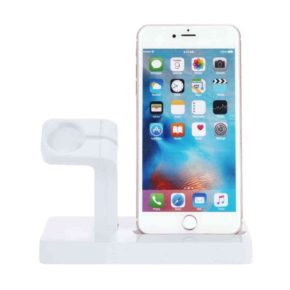2in1 Charging Stand For Apple Watch And Iphone, Charger Station Dock