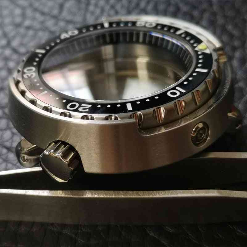 Sapphire Crystal Stainless Steel  - Water Resistance Modify Watch Case