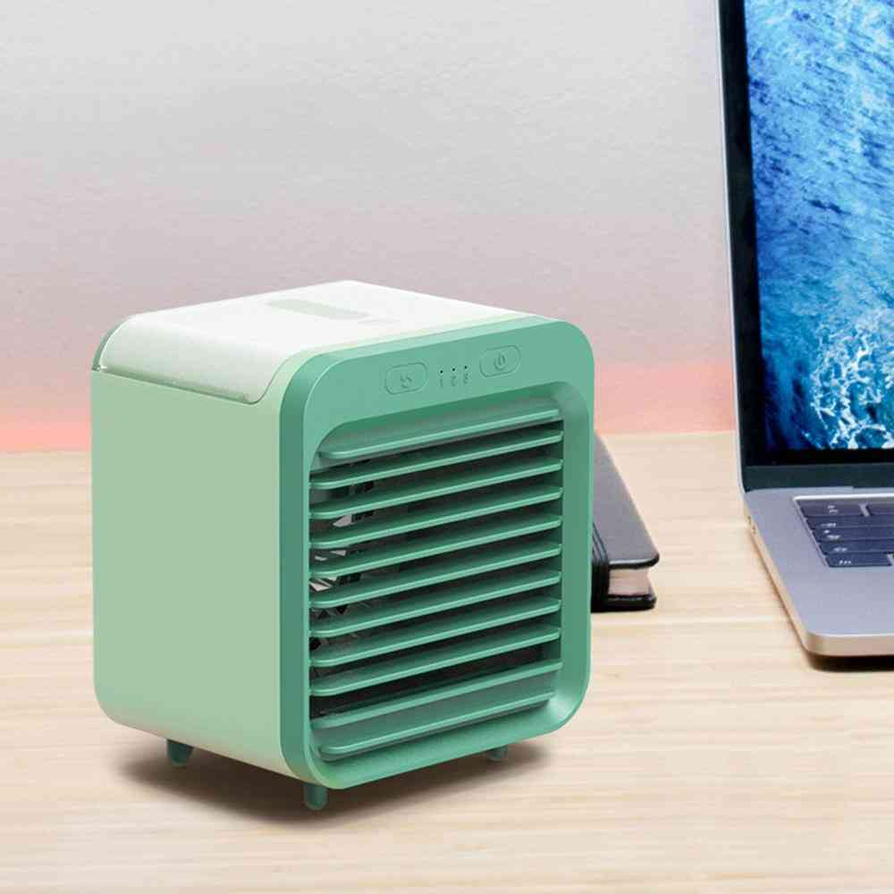 Portable Mini Usb  Air Conditioner-desktop Humidifier/purifier For Office/bedroom